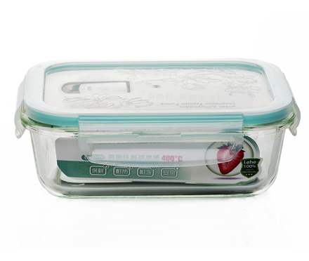 Student lunchbox for microwave glass bowl lunch box for kids kitchen food container bento box small gifts