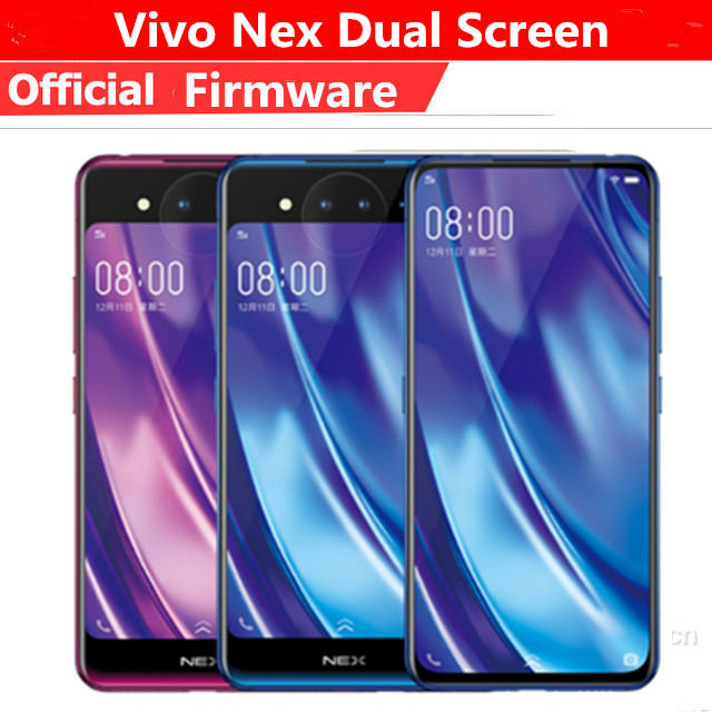Original Vivo Nex 2 Mobile Phone Snapdragon 845 Android 9.0 6.39 Inch+5.49 Inch Dual Screen 10GB RAM 128GB ROM Face ID