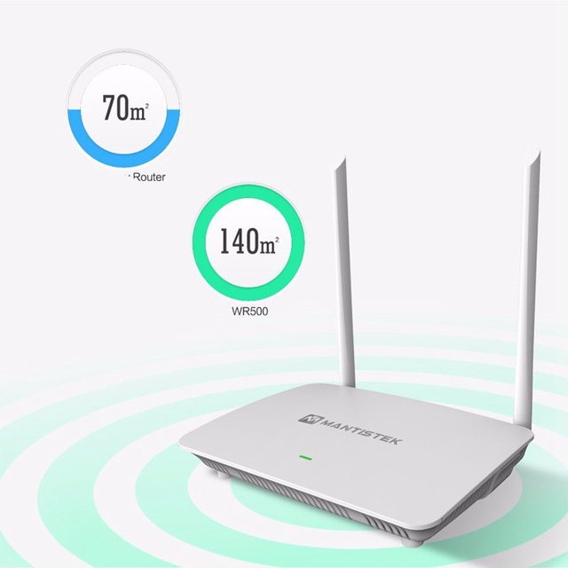 Mantistek WR500 Wi-Fi Маршрутизатор 2.4 Г 300 Мбит 802.11 b/g/n Маршрутизатор Стабильность Сигнала Беспроводной Wi-Fi Ретранслятор поддержка Через Стены Маршрутизатор