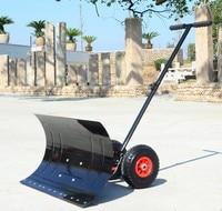 Hand Shovel Snow Wheel Shovel Board Snow Throwing Machine Winter Snow Remover Durable Heavy Enough High Quality