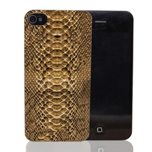 2168CA Luxury Just Cavallis Snake Print Hard Transparent cheap Case Cover for iPhone 4 4s 5 5s 5c SE 6 6s Plus Thin Style