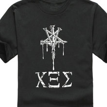 Arrival Male Tees Casual Boy Tops Discounts  MenS Metal Band Rotting Christ Nemecic Song T Crew Neck Office Tee