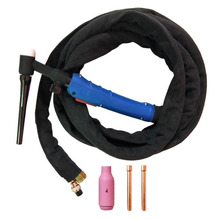 WP 17FV 12 Feet 3.7Meters Tig Welding Torch Complete With Flexible Head Fit TIG Torch, Y006