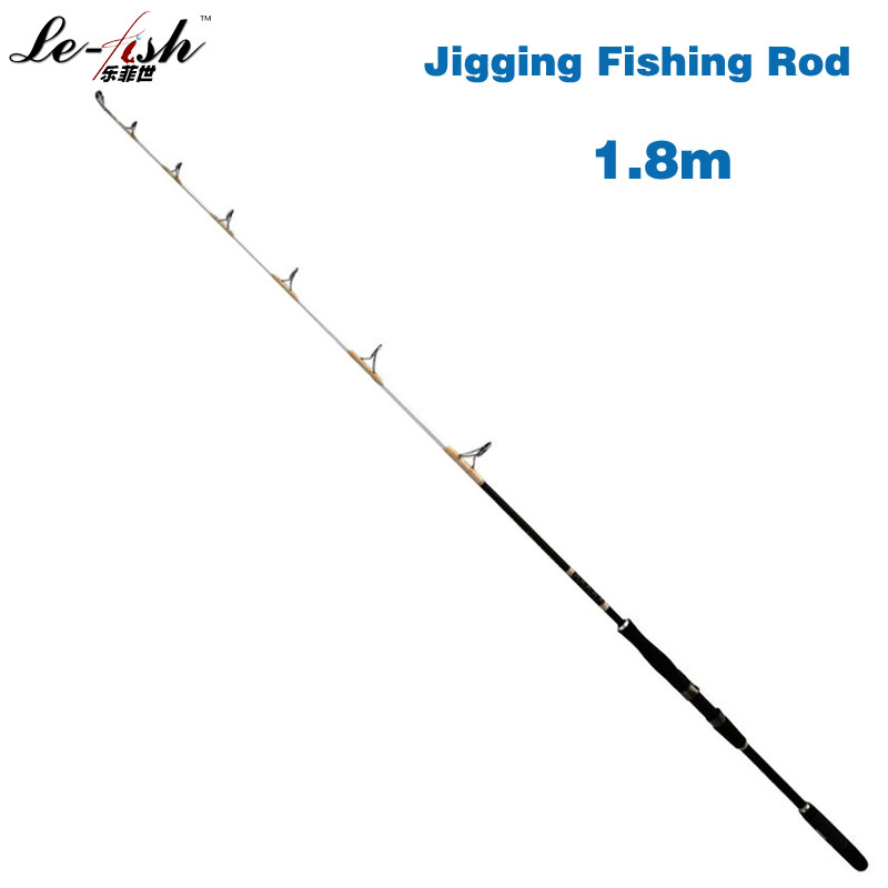 Hot Sale Fiberglass Material Jigging Fishing Rod 1.8m 2 Section 40-150g, 50-200g, 80-250g  Lure Weight EVA Handle Fishing Pole okuma genuine brake renault c3 1 83 m 1 98 m 2 13 m m tune grips road asia rod fishing rod inserted section pole