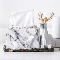 European style paper towel box living room northern European elk draw carton household multifunctional paper box napkin box