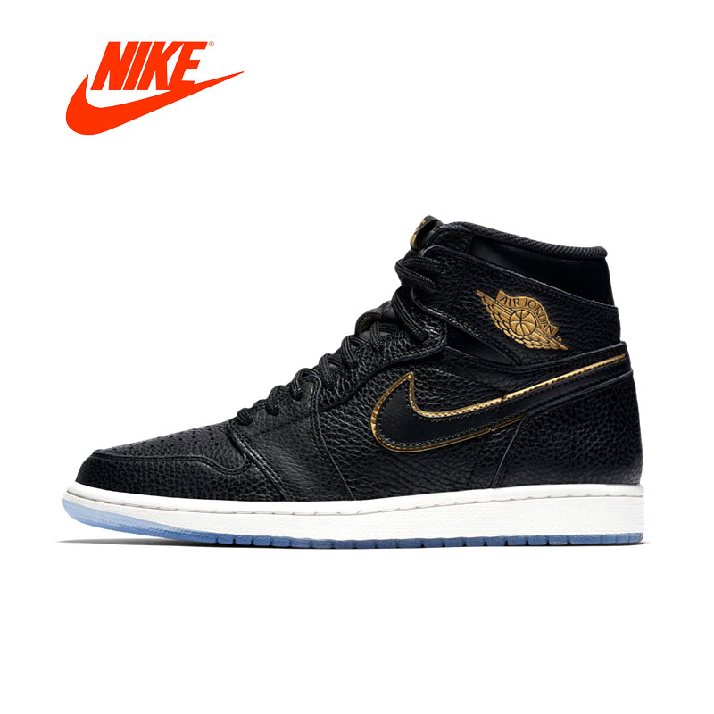 Original Officiel New Arrivial Authentique AIR JORDAN 1 RÉTRO HAUTE OG Hommes de Basket-Ball Chaussures Sneakers Sport En Plein Air Confortable