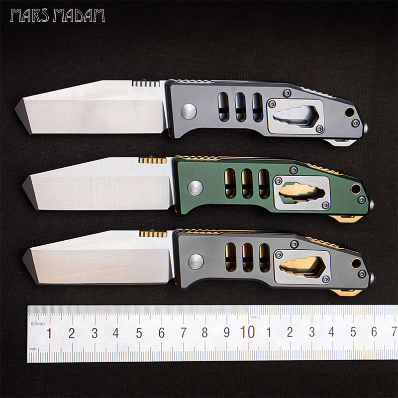 MARS MADAM Free shipping New style Multi-function pocket knife folding camping knife self-defense portable camping tool 58HRC