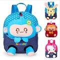 2017 Cute Cartoon Baby Backpack 1-4 Age Kids Children School Bags For Girl Boy Backpack Soft Waterproof Canvas Mochila Infantil