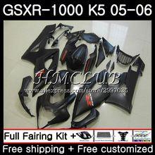 Детали корпуса для Suzuki GSXR 1000 матовый черный GSXR-1000 2005 2006 тела 33HC. 13 GSX R1000 GSX-R1000 05 06 K5 GSXR1000 05 06 обтекатель