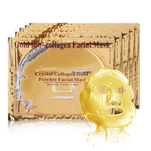 New Moisturizing 24K Gold Bio Collagen Face Lip Mask Wrinkle Tired Feet Puffy Eye Treatment Facial Skin Care for all skin types(China)