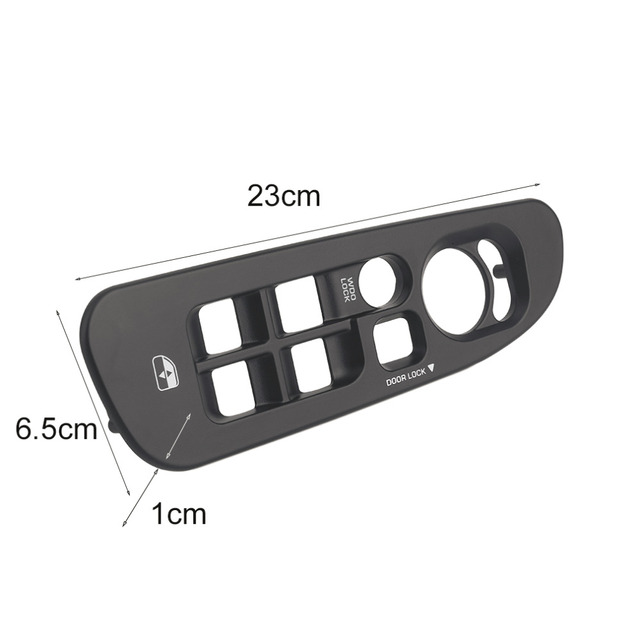 New Car Master Window Switch Control Panel Bezel Fits For Dodge For Ram 1500 2500 3500 Car Styling Auto Accessories Hot sale