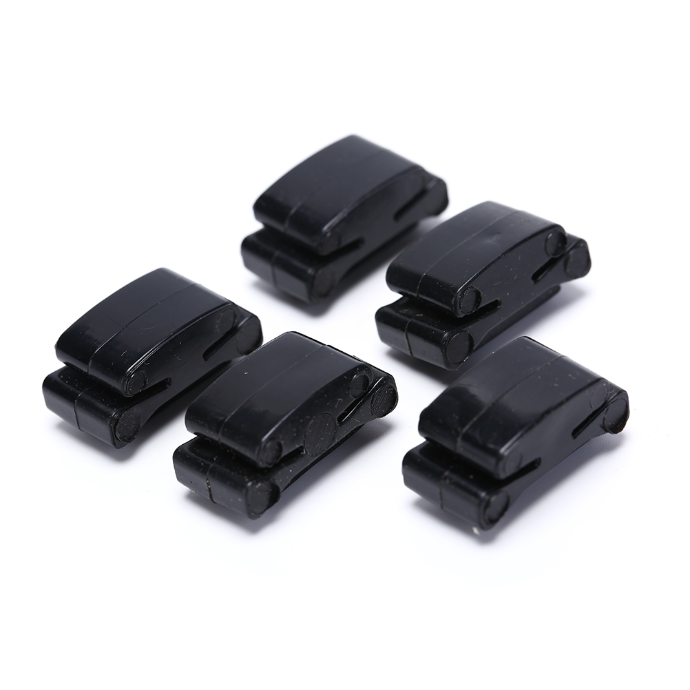 5 Pcs 20g Black Rubber Guitar Pick Holder Fix On Headstock For Guitar Bass Ukulele