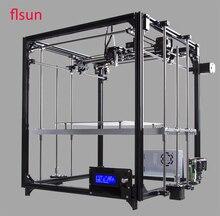 Алюминиевый structrue 3d-Printer комплект I3 принтер 3D размер печати 260*260*350 мм с двух рулонов нить SD карты