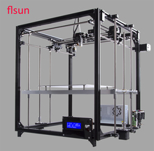 Aluminum Structrue 3d-Printer Kit I3 Printer 3D Printing Size 260*260*350mm With Two Rolls Filament SD Card