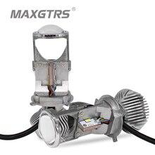 1Pair 70W H4 LHD Car LED Bulbs HID Bulb Light Lamp Hi/Lo Beam Headlight 1.5″ Micro Auto Mini Projector Lens 5500K DC12V/24V