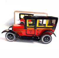 Classic Tin Toys Retro Car Wind Up Toys For Boys Vintage Handmade Crafts