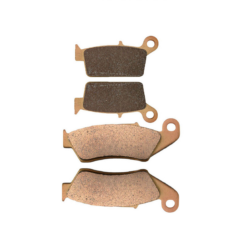 Motorcycle Front & Rear Brake Pads For H O N D A  XR250R XR 250R 250 R XR250 R 1996-2004 97 98 99 00 01 02 03 Brake Disks motorcycle front and rear brake pads for honda xr250r xr250l xr250 r l1990 2004