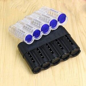 Image 3 - רכב ארגונית מטבעות אחסון תיבת Trunk ארגונית רולס פלסטיק Pocket טלסקופי מטבעות דאש מקרה מחזיק מיכל אביזרי רכב
