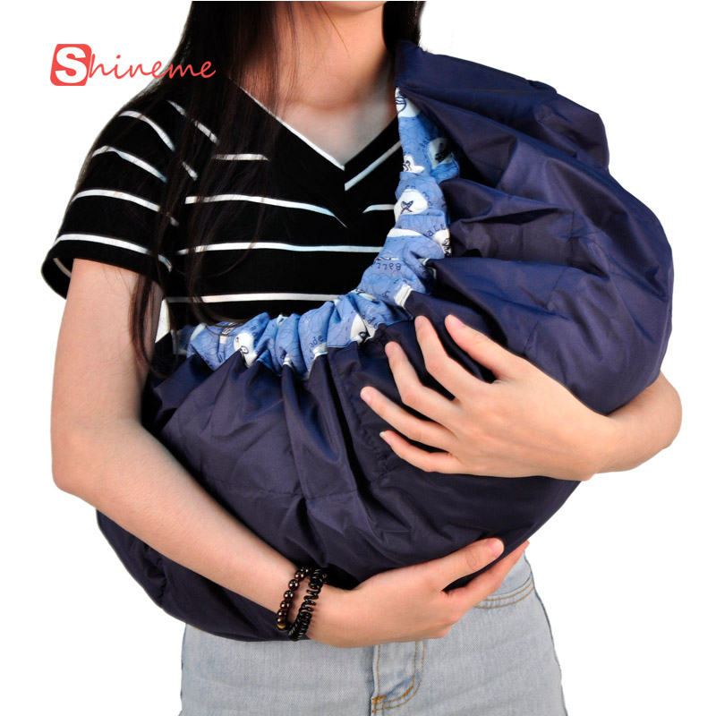 Quality 5 colors side carry economic newborn wrap baby carrier backpack sling front facing infant organic