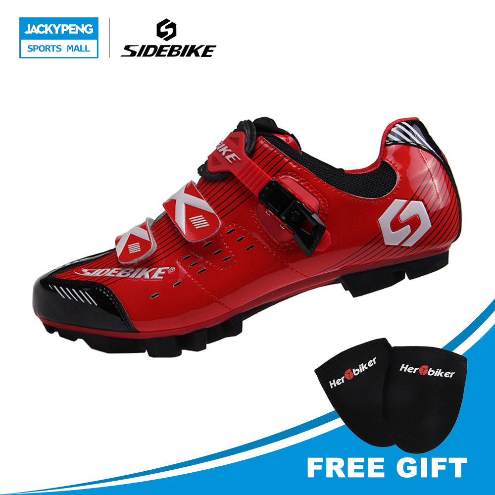 SIDEBIKE Professional Lightweight Cycling Shoes Mountain Bike Shoes Sapatilha Ciclismo Mtb Brand Sneakers Cycling Shoes For Men tiebao bicicleta mountain bike cycling shoes men sneakers bike riding sapatilha ciclismo mtb bicycle sneakers superstar shoes