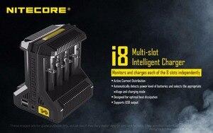 Image 2 - Nitecore i8 インテリジェント充電器 8 スロット合計 4A 出力スマート充電器 IMR18650 16340 10440 AA AAA 14500 26650 と USB デバイス