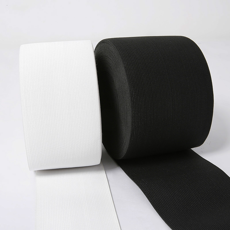Flat Woven Elastic 19mm 3//4 inch wide Black or White Premium Grade *UK SELLER*