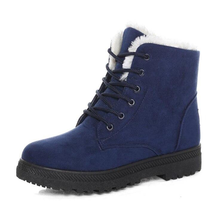 Women's High Heels Plush Winter Boots 31