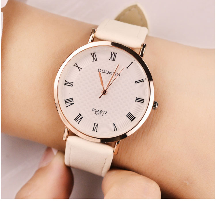 Fashion Ultra-Thin Dress Women Watch Best Brand Luxury Ladies Quartz Wrist Watch Leather Watches Relogio Feminino Hodinky XFCS 2016 new fashion geneva women watch diamonds dress ladies casual quartz watch leather wrist women watches brand relogio feminino
