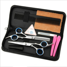 Hot 6 inch Cutting Thinning Styling Tool Hair Scissors Set Professional Salon Hairdressing Shears Regular Flat