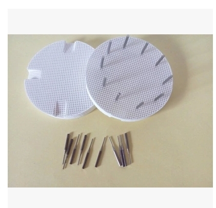 2pcs plates with 20 pcs metal nails 720mm Dental Lab Material Single Metal Nails For Holding Porcelain Sintering