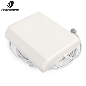 Image 5 - 800 2500MHz 9dBi 2G 3G 4G Lte Antenna Indoor Directional Panel Antenna N Male Connector and 5m cable for Repeater Signal Booster