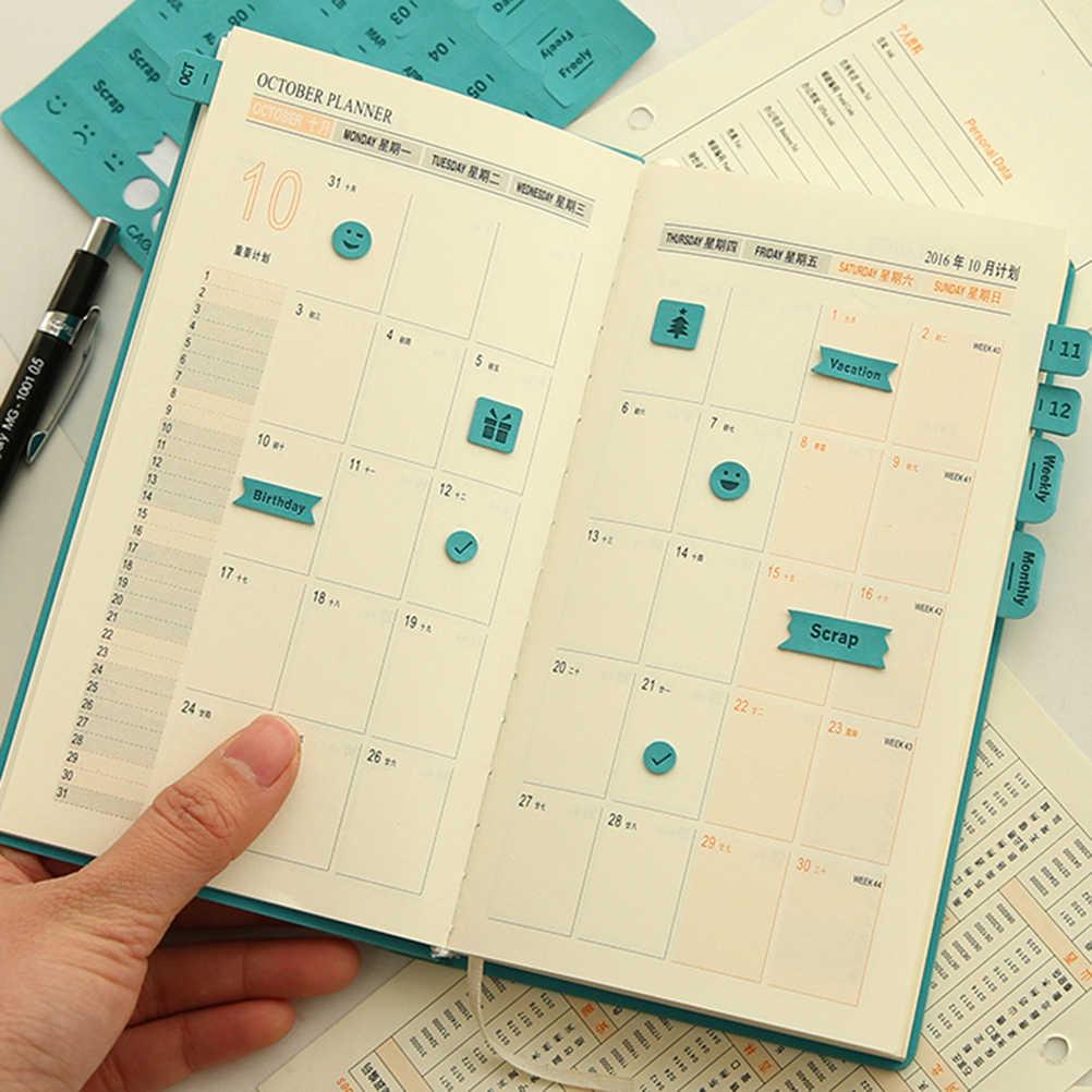 Высокое качество 1 лист стикер простой и практичный дневник стикер s планировщик стикер s/Sticky Notes/Papeleria/канцелярские товары