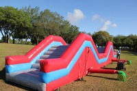 large inflatable running exercise play ground for kids to have fun and stronger the body