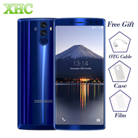 DOOGEE BL12000 6.0 ''Smartphone 12000 mAh Batterie Octa Core 4 GB RAM 32 GB ROM Android 7.1 16.0MP + 16.0MP Caméras Double SIM Téléphone Portable