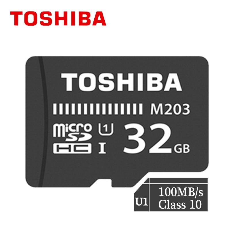 Toshiba Micro Sd 32gb 100MB/s Class 10  128gb Memory Card C10 256gb Memoria Micro Sd U1 4K 16gb Tf Card Free Shipping