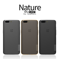 NILLKIN Transparent TPU Case Cover For Oneplus 5 Case Silicone Soft Shell With Oneplus 5 Screen