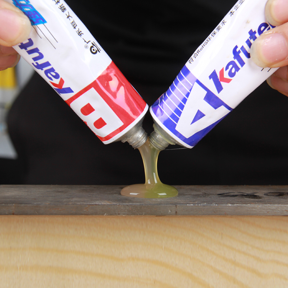 Kafuter A+B Glue 70g Acrylate Structure Glue Special Quick-Drying Glue Glass Metal Stainless Waterproof Strong Adhesive Glue