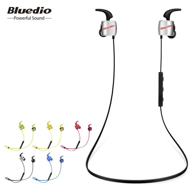 Bluedio TE sport zestaw słuchawkowy bluetooth/bezprzewodowe douszne z wbudowany mikrofon pot dowód słuchawki do telefonów i muzyka