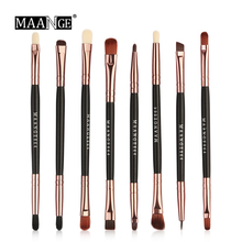 MAANGE 5/8 Pcs Pro Makeup Brushes Set Cosmetic Double-end Ey