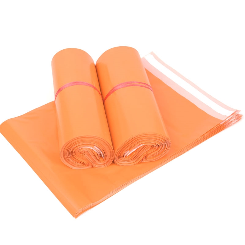 (10 Pieces/lot) Orange Express Bag Thickening Courier Bag Envelope Logistics Documents International Packaging Bags