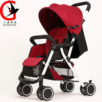 New Lightweight Baby Stroller Portable Travel Strollers Fold Able Umbrella Pram Baby Carriage ZEL A6