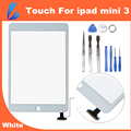 LL TRADER High Quality Touch Glass Screen Digitizer Front Assembly for iPad Mini 3 Digitizer Replacement Adhesive Glue Sticker