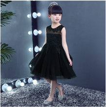 Formal High-quality Summer lace Black Girls dress Clothing Bohemian Beach  Dress for Girl Costumes Girl Wedding Party dress 3-12T 473682712cf0
