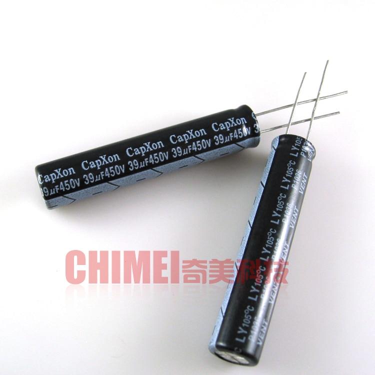 Capacitor eletrolítico 450 v 39 uf capacitor