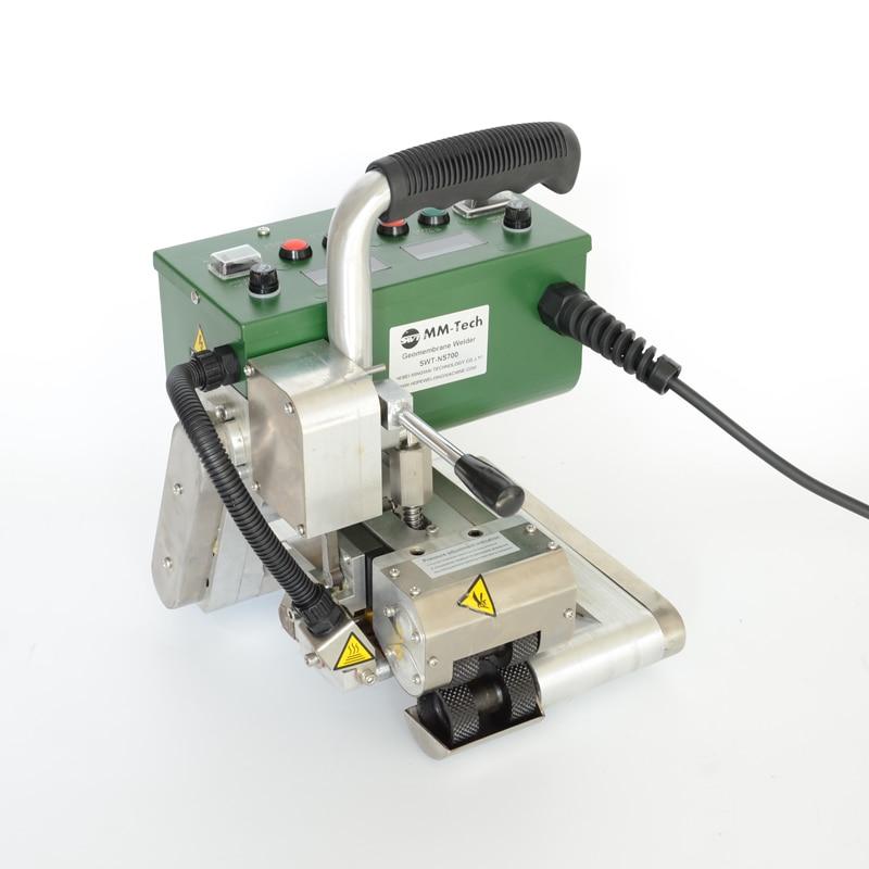 SWT NSGM1 PVC profile welding machine hot wedge welder hdpe geomembrane Plastic Welders     - title=