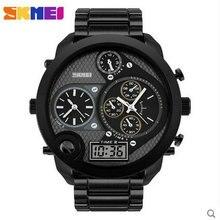 Материал металла multi часовой пояс круглый часы для мужчин Берсерка творческие Кварцевые Мода Из Нержавеющей Полный Relojes Повседневная Наручные Часы