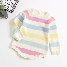 1480eaf3d4b2 Buy rainbow striped bodysuit baby and get free shipping on ...