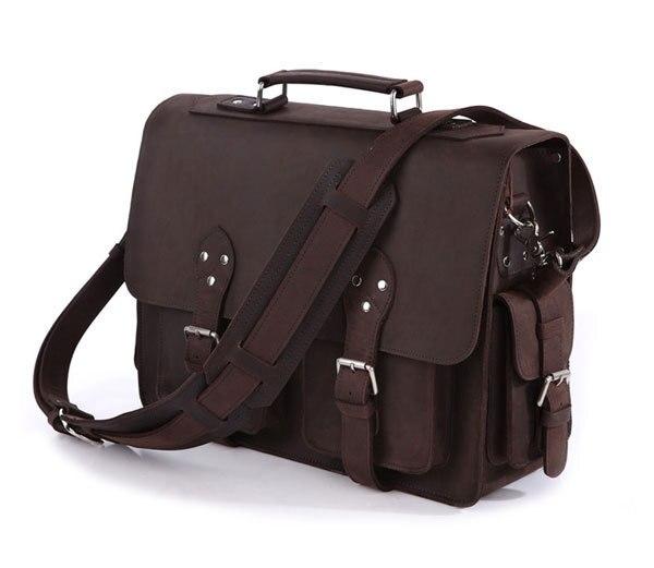 Homme sac à main en cuir véritable grand sac à bandoulière hommes Loptop sac mallette d'affaires sac homme bandoulière homme Messenger sacs de voyage