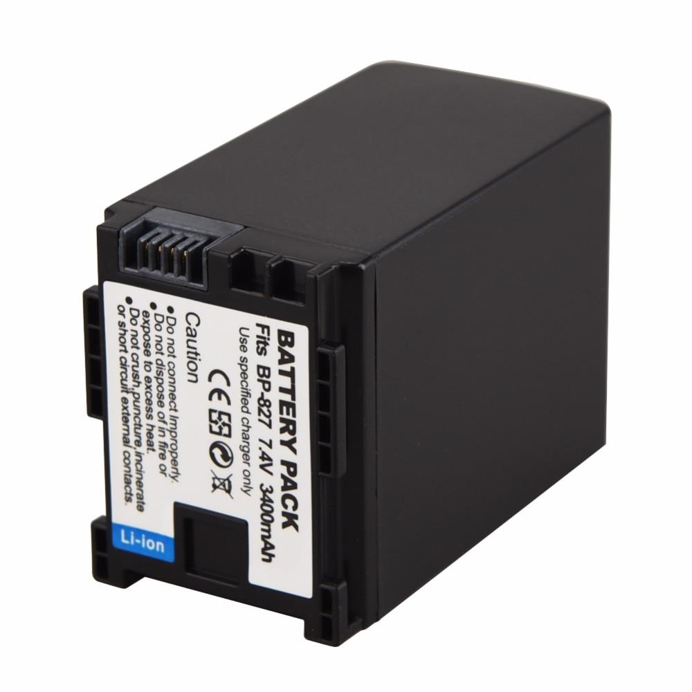 Batería batería para Canon bp-807; bp-809; bp-819 bp-819d; bp-827; bp-827d nuevo