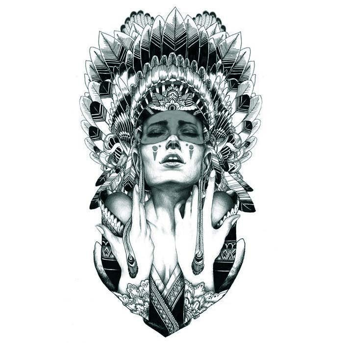 Indian Tribal Tattoos Reviews - Online Shopping Indian Tribal ...